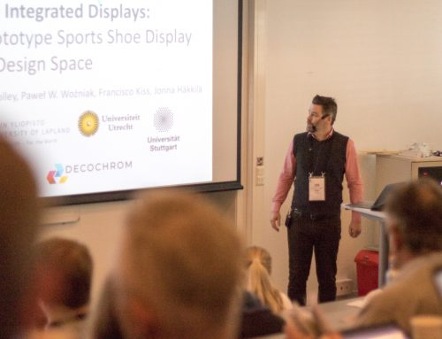 Presentation at NordiCHI18